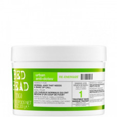 "Маска ""Tigi Bed Head Urban Anti+dotes Re-Energize Treatment Mask"" 200мл для нормальных волос"