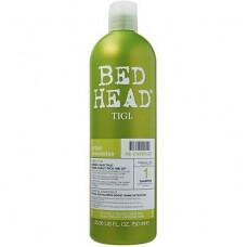 """Шампунь """"TIGI Bed Head Urban Anti+dotes Re-Energize"""" 750мл для нормальных волос (уровень 1)"""