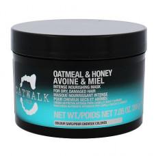 """Маска """"Tigi Catwalk Oatmeal & Honey интенсивная"""" 200мл для питания сухих и ломких волос"""