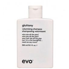 EVO gluttony volumising shampoo - Шампунь для объема волос 300мл